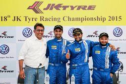Sirish Vissa, Anindith Reddy, Sailesh Bolisetti and Karminder Singh