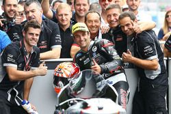 Second place Johann Zarco, Ajo Motorsport
