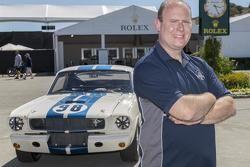 John Atzbach, propriétaire de la Shelby GT 350 Mustang châssis n°2