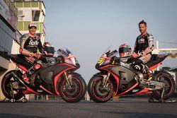 Stefan Bradl en Alvaro Bautista, Aprilia Racing Team Gresini