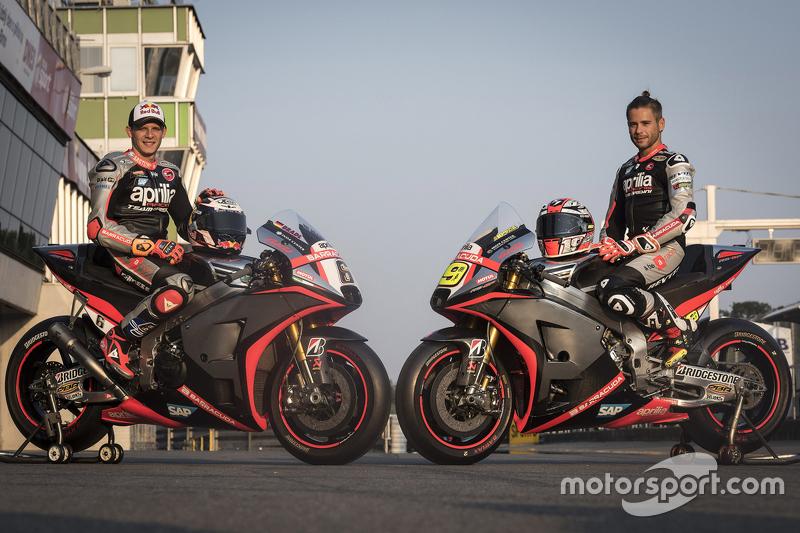 Штефан Брадль та Альваро Баутіста, Aprilia Racing Team Gresini