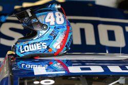 Helmet of Jimmie Johnson, Hendrick Motorsports Chevrolet