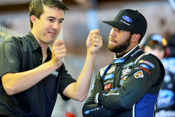 Billy Johnson with Darrell Wallace Jr., Roush Fenway Racing Ford
