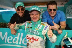 Rubens Barrichello e amigos em Goiânia