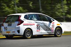 #90 Honda Fit: Kevin Boehm, Andrew Salzano, Jeff Barrow