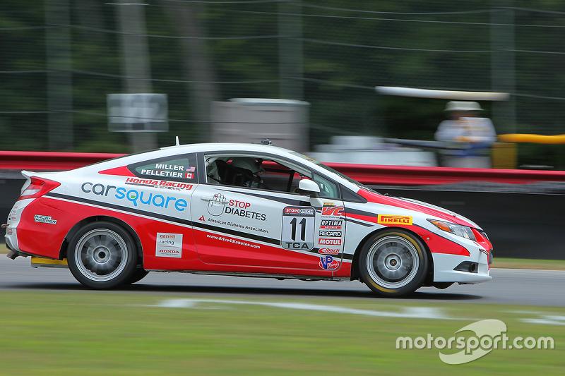 #11 Garrett Racing Honda Civic Si: Chase Pelletier, Jon Miller