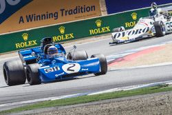 John Delane, 1971 Tyrrell 002 and Tommy Dreelan , 1976 March 761