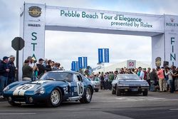 Pebble Beach Tour d'Elegance startı