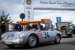 Ugo Gussalli Beretta, 1955 Porsche 550RS Spyder