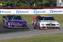 Regan Smith, JR Motorsports Chevrolet and Alex Tagliani, Team Penske Ford