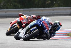 Jorge Lorenzo, Yamaha Factory Racing en Marc Marquez, Repsol Honda Team