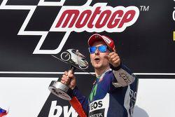 Vainqueur : Jorge Lorenzo, Yamaha Factory Racing