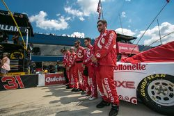 La crew di Chip Ganassi Racing