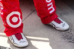 Shoes of Kyle Larson, Chip Ganassi Racing Chevrolet