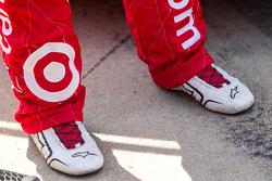 Zapatos de Kyle Larson, Chip Ganassi Racing Chevrolet