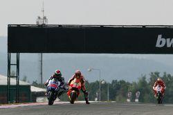 Jorge Lorenzo, Yamaha Factory Racing et Marc Marquez, Repsol Honda Team