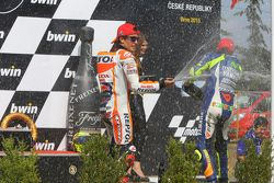 Podium : le deuxième, Marc Marquez, Repsol Honda Team