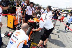 La salida: Dani Pedrosa, Repsol Honda Team
