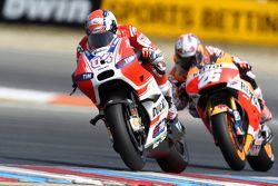 Andrea Dovizioso, Ducati Team et Dani Pedrosa, Repsol Honda Team