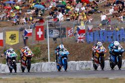 Romano Fenati, SKY Racing Team VR46, Miguel Oliveira, Red Bull KTM Ajo, Jorge Navarro, Estrella Gali