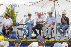 Formula 5000 panel: Tony Adamowicz, Don Nichols, Brian Redman, Howden Ganley, John Morton