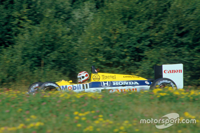 10º Nelson Piquet, Williams-Honda FW11B; Austria 1987: 256,622 km/h