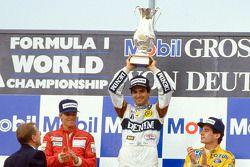 Podium: 1. Nelson Piquet, 2. Stefan Johansson, 3. Ayrton Senna