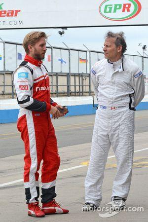 Nick Heidfeld, Mahindra Racing and Jacques Villeneuve, Venturi