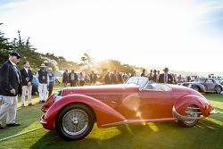 Robert M. & Anne Brockinton Lee, 1938 Alfa Romeo 8C 2900B Touring Spider