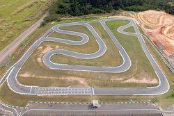Imagem aérea do Kartódromo de Limeira