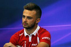 Will Stevens, Manor F1 Team in the FIA Press Conference
