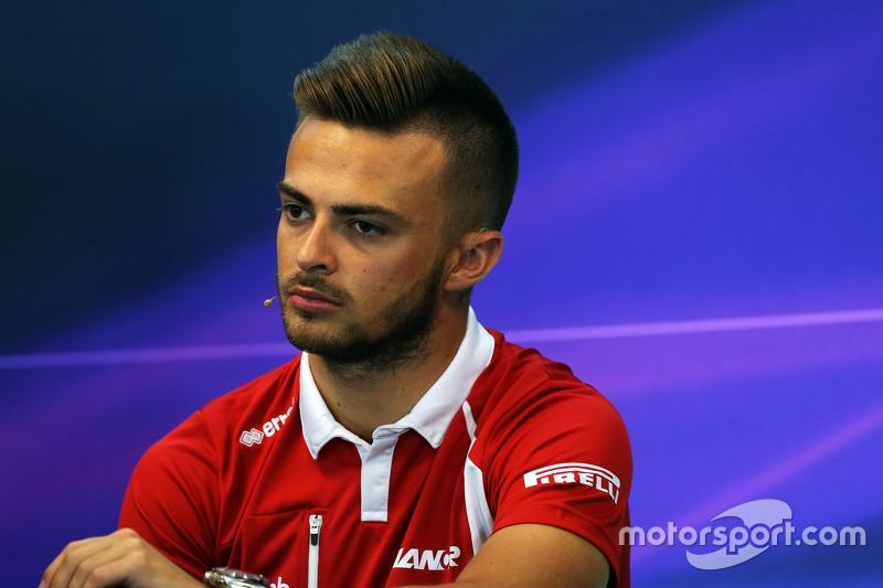 Will Stevens, Manor F1 Team dalam Konferensi Pers FIA