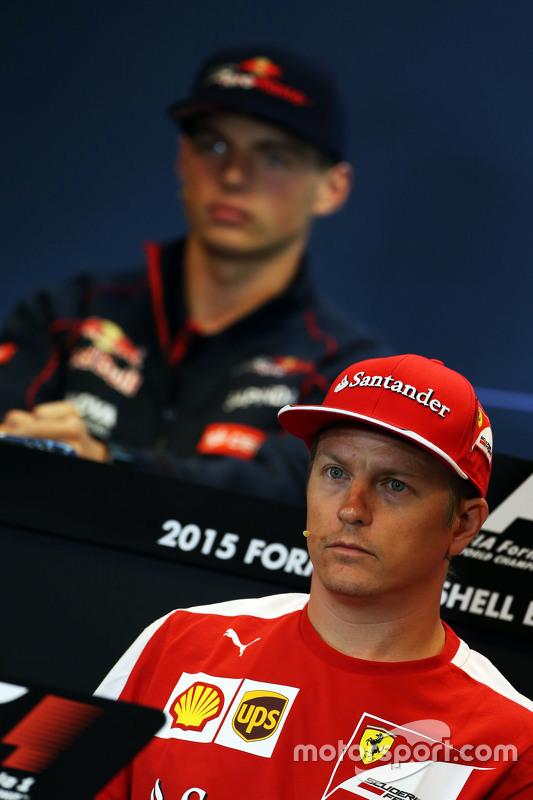 Kimi Raikkonen, Ferrari di FIA Press Conference