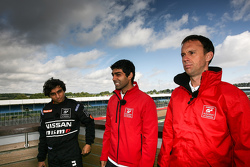 Karun Chandhok, Indian participant and Nissan mentor