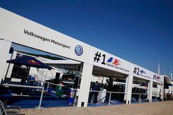 Volkswagen Motorsport team area