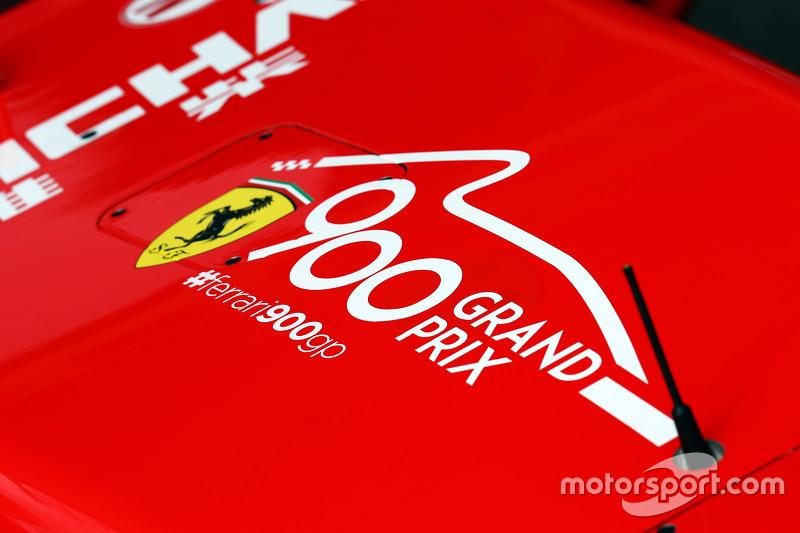 Ferrari SF15-T festeggia i 900 Gran Premi del Team