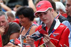 A Manor F1 Team fan