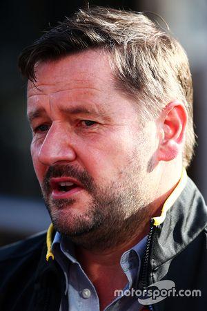 Paul Hembery, directeur du sport automobile chez Pirelli