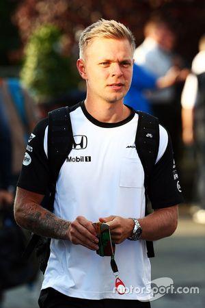 Kevin Magnussen, pilote d'essais et de réserve McLaren