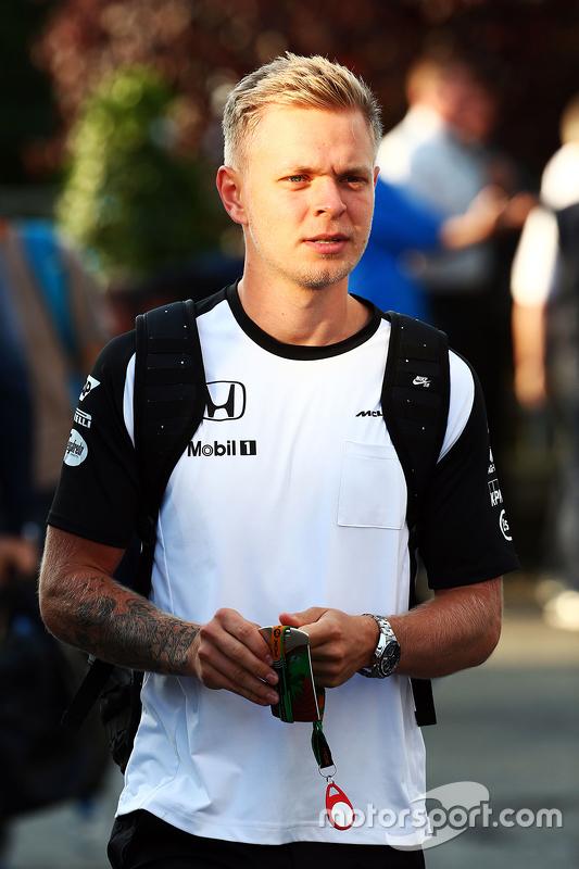 Kevin Magnussen, McLaren Piloto de prueba y reserva