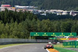 Sebastian Vettel, Ferrari SF15-T et son équipier Kimi Raikkonen, Ferrari SF15-T