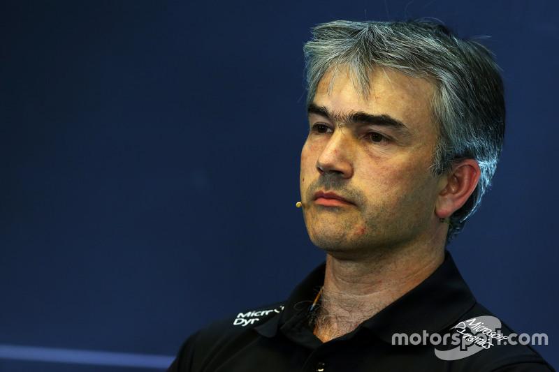 Nick Chester, Lotus F1 Team Technical Director di FIA Press Conference