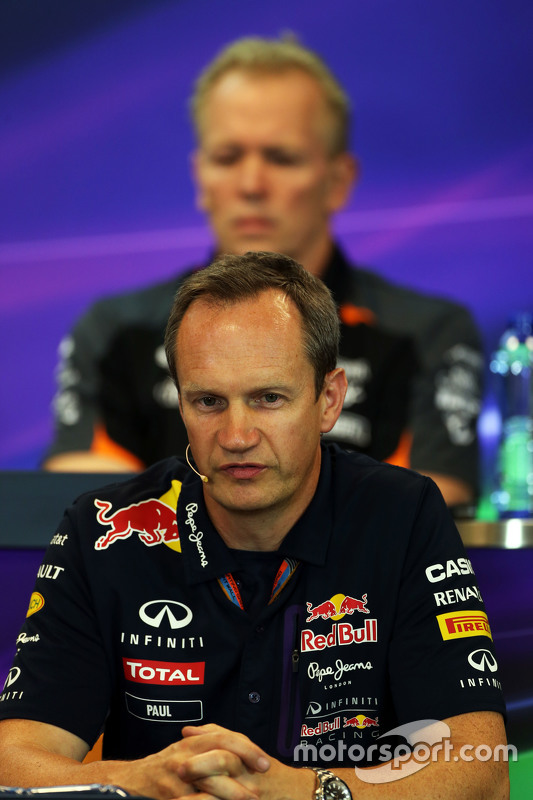 Paul Monaghan, Red Bull Racing Chief Engineer di FIA Press Conference