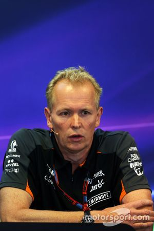 Andrew Green, Sahara Force India F1 Team