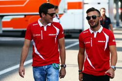 Fabio Leimer, Manor F1 Team com Will Stevens, Manor F1 Team