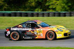 #31 Bodymotion Racing Porsche Cayman: Ethan Low, Jason Rabe