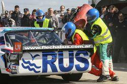 Primera vez en recarga en TC Mauricio Lambiris, Coiro Dole Racing Torino