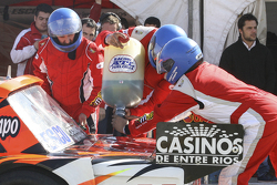 First time refueling in TC Mariano Werner, Werner Competicion Ford