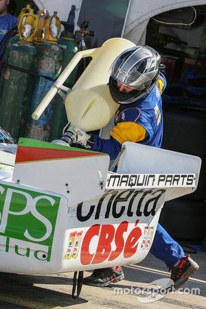 Primera vez en recarga en TC Carlos Okulovich, Maquin Parts Racing Torino