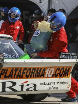 Primera vez en recarga en TC Santiago Mangoni, Laboritto Jrs Torino